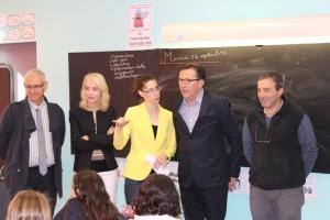 La directrice académique en visite à l'école primaire Jean Jaurès