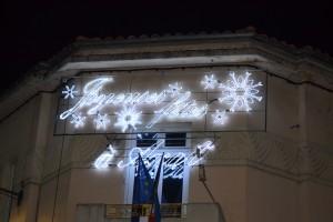 Illuminations pour Noël et la fin de l'année