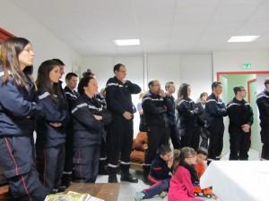 Promotion chez les pompiers axatois