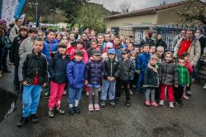 Les Écoles d'Axat aux 23ème Foulées Campenoises