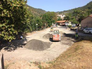 Aménagement d'un nouveau parking