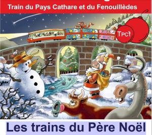 Les trains du Père Noël