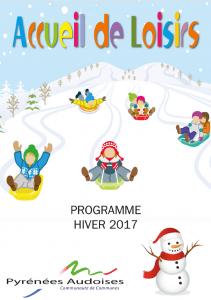Centre de loisirs Programme des vacances d'Hiver