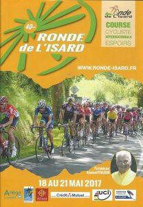 Passage de la 40ème édition de la Ronde des Isards