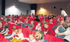 Les élèves au cinéma !