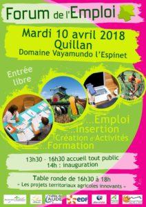 Forum de l'Emploi 2018