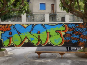 Initiation au « Graff » à l'école